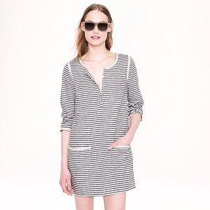 J. Crew Stripe Pocket Tunic/Dress Large